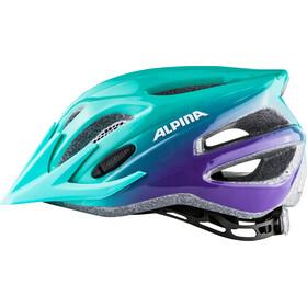 Alpina FB 2.0 Flash Casco Niños, smaragd-violet